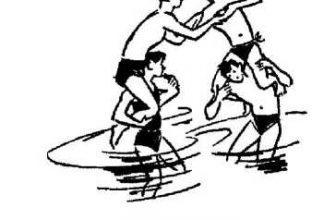 Бег «тачкой» в бассейне